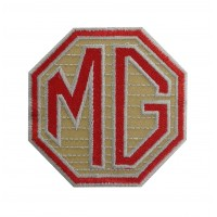 0841 Embroidered patch 8x8 MG MOTOR