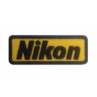 1086 Embroidered patch 9X3 NIKON