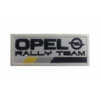 1060 Embroidered patch 10x4 OPEL RALLY TEAM