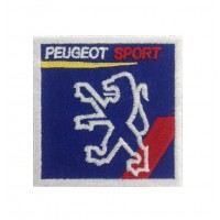 0499 Embroidered patch 7x7 PEUGEOT SPORT