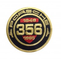 1249  Embroidered patch 7x7 PORSCHE 356 CLASSIC REGISTRY 1948-1965