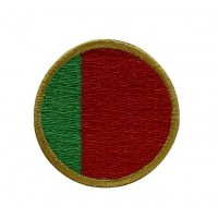 1250 Embroidered patch 4x4 Portugal flag Vespa