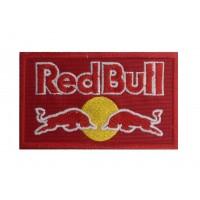0116 Patch emblema bordado vermelho 10x6 RED BULL