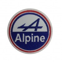 0999 Patch emblema bordado 7x7 ALPINE renault