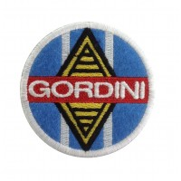 0457 Embroidered patch 7x7 GORDINI Renault