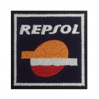 0689 Embroidered patch 7x7 REPSOL