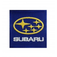 0101 Patch écusson brodé 7x7 Subaru