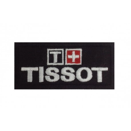 0379 Embroidered patch 8X4 TISSOT