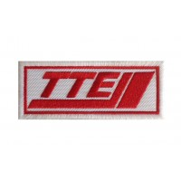 1258 Embroidered patch 10x4 TTE TOYOTA TEAM EUROPE