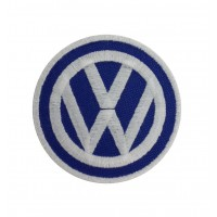 1261 Embroidered patch 7x7  VW VOLKSWAGEN