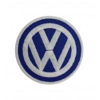 1261 Patch emblema bordado 7x7 VW VOLKSWAGEN