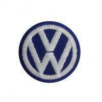 1054 Patch écusson brodé 5X5 VW VOLKSWAGEN