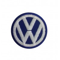 1054 Patch emblema bordado 5X5  VW VOLKSWAGEN