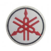 0456 Embroidered patch 7x7 YAMAHA