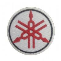 0456 Patch emblema bordado 7x7 YAMAHA