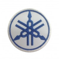 0655 Embroidered patch 7x7 YAMAHA