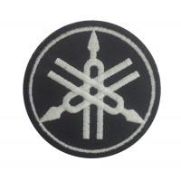 0454 Patch emblema bordado 7x7 YAMAHA