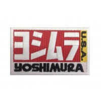 1265 Patch emblema bordado 10X6 YOSHIMURA USA