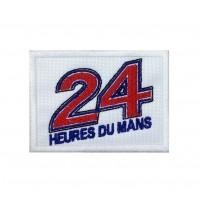 1267 Parche emblema bordado 8x6 LE MANS 24 HORAS