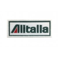 1271 Embroidered patch 10x4 ALITALIA