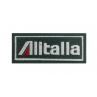 1272 Embroidered patch 10x4 ALITALIA
