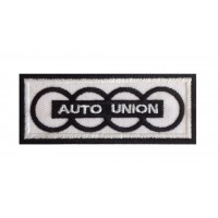 0777 Embroidered patch 10x4 AUTO UNION AUDI 1949