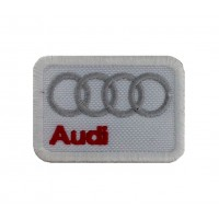 0234 Embroidered patch  6x4 AUDI
