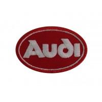 0313 Patch emblema bordado 7x5 AUDI 1978