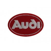 0313 Embroidered patch 7x5 AUDI 1978