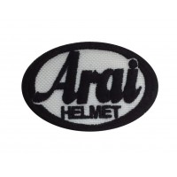 0170 Patch emblema bordado 6X4 ARAI HELMET