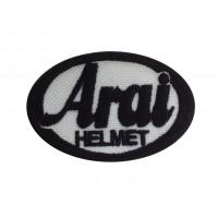 0170 Patch écusson brodé 6X4 ARAI HELMET