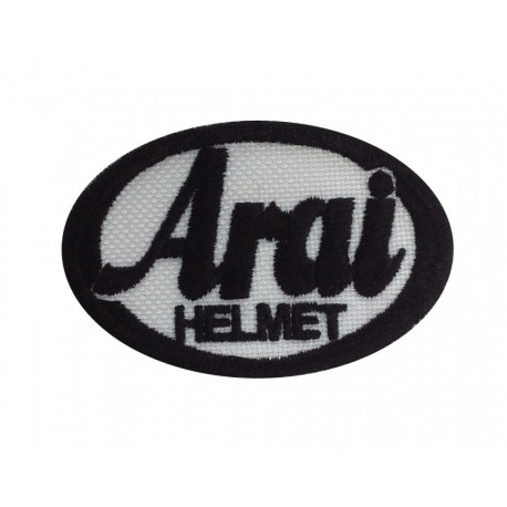0170 Embroidered patch 6X4 ARAI HELMET