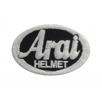 1274 Patch emblema bordado 6X4 ARAI HELMET