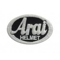 1274 Embroidered patch 6X4 ARAI HELMET