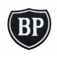 0317 Patch écusson brodé 7x7 BP British Petroleum