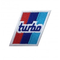1275 Patch emblema bordado 6x5 BMW M TURBO