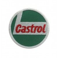 0257 Embroidered patch 7x7 CASTROL