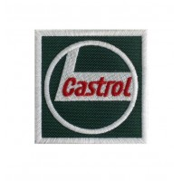 0110 Embroidered patch 7x7 CASTROL