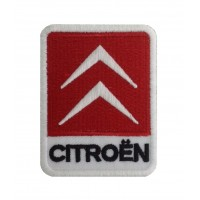 0898 Embroidered patch 8x6 CITROEN