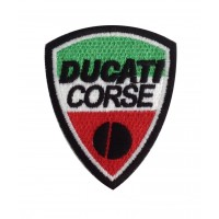0569 Patch écusson brodé 9X7 DUCATI
