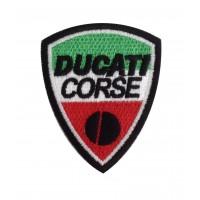 0569 Patch emblema bordado 9X7 DUCATI