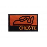 1278 Patch emblema bordado 7x4 CIRCUITO RICARDO TORMO CHESTE VALENCIA ESPANHA