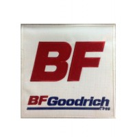 0339 Patch emblema bordado 20X20 BF GOODRICH TIRES