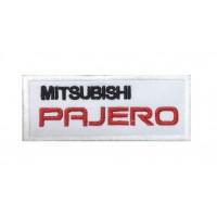 0081 Patch emblema bordado 10x4 Mitsubishi Pajero