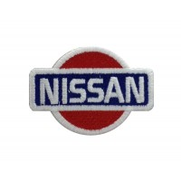 0555 Embroidered patch 7x6 NISSAN