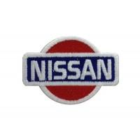 0555 Parche emblema bordado 7x6 NISSAN