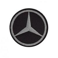 0782 Patch emblema bordado 5X5 MERCEDES