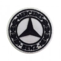 0262 Patch écusson brodé 7x7 MERCEDES BENZ 1926