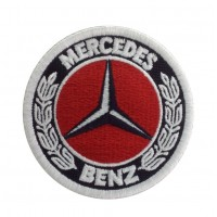 1280 Embroidered patch 7x7 MERCEDES BENZ 1926