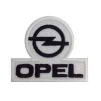 0293 Embroidered patch 7x7 OPEL 1987
